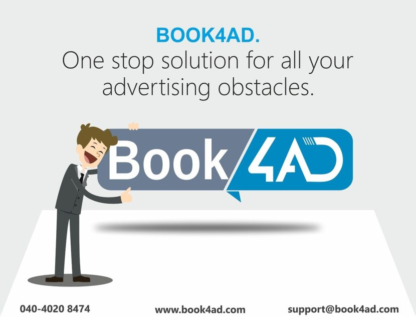 Book Deccan Chronicle newspaper ad online